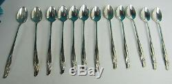 102 PC Rogers Bros IS EXQUISITE 1957 Silverplate Flatware Set
