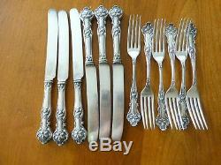 12 pc 1906 Charter Oak Silverplate 1847 Rogers Bros SET FOR 6 Fork &6 Knife
