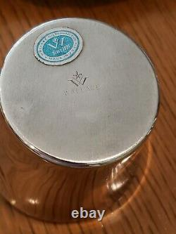 15Pcs Wallace Silverplate Harvest Punch Bowl Set Bowl, Ladle, 12 Cups, Platter