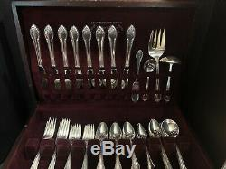 1847 ROGERS BROS. & INTERNATIONAL SILVERPLATE REMEMBRANCE Serves 8 (102 pc)