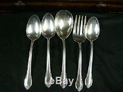 1847 Rogers Bros Remembrance Flatware Silverware 117 Pc Set with Case