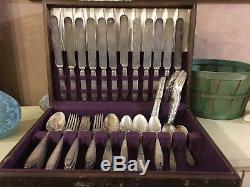 1847 Rogers Bros Vintage Silverware Set Flatware