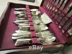 1847 Rogers Bros Vintage Silverware Set Silver Plated Silverplate Flatware Fork