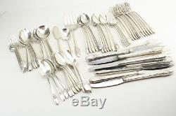 1847 Rogers FIRST LOVE Silverplate Flatware 75 PC SET
