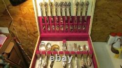 1847 Rogers Heritage Set & chest- 62 pcs