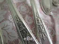 1847 rogers bros. IS vintage silverware set of 57 pieces nice shape