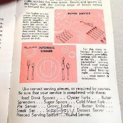 1881 Rogers LTD Flirtation Silver Plate Set. 65 Pieces incl. 7 Serving mcs