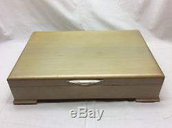 1881 Rogers Oneida Ltd Flatware Set Plantation In Case Silverplate 42 Pc 1948