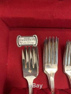 1881 Rogers Oneida Silverware Full Set In Original Box
