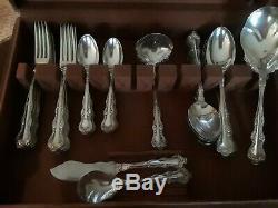 1904 Venice aka Orient Silverplate Flatware Set 12 Place Setting