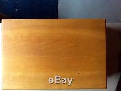 1960's Silverware Set, International Deep Silver Silverplate, Korea, 92 Pieces