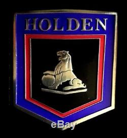 2017 Holden LJ Torana box set SILVER PLATE GRILLE BADGE Ltd Ed 200! & STAMP