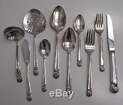 44 piece set service for 8 ETERNALLY YOURS pattern IS 1847 Rogers intro 1941