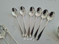 44 x vintage Silver Plated W&H PRIDE Cutlery set Design David Mellor walker hall