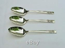 55 Piece Set 1936 CORONATION Silverplate Flatware With Chest Oneida Community