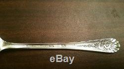59Pc Set 1953 JUBILEE Pattern WM Rogers Mfg Co AA Vintage Silverplate Flatware