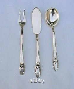 69 Piece Set 1937 FIRST LOVE Silverplate Flatware With Chest 1847 Rogers Bros