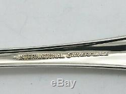 74 Piece International Silverplate Waverly Pattern Flatware Set