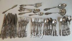 75 Piece Oneida Community Silver Artistry Flatware Service Circa 1965 Bargain