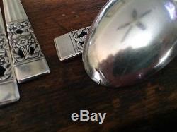 92 pcs Vtg 1930s Community Silverplate Flatware Set Coronation Silverware Oneida