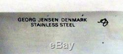 A partial set (25 pcs) of Arne Jacobsen stainless steel flatware, Georg Jensen