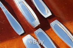 Alfenide Christofle Saigon Silver plated 36 PCS Set for Six