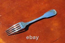 Alfenide Christofle Vendome Silver Plated Table Forks Set of Six