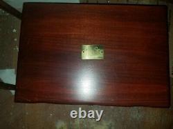 Antique Coronation Community Plate Silverware Set 136 pieces with box