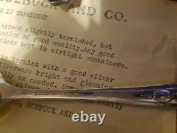 Antique Harmony House Plate AA+ 56 piece Silverware Set WithBox