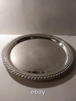 Antique Oneida Silver Plated Tea/Coffee Serving Set casserole cookware