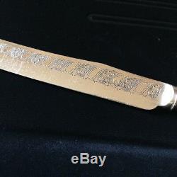 Antique Sheffield Silver & Mother-of-Pearl Dessert Knives & Forks, Set of 24