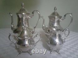 Antique Sheridan Taunton Silver Plated Coffee/Tea Set