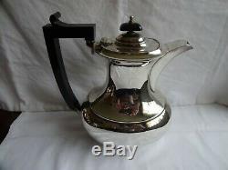 Art Deco William Adams, Birmingham Silver Plated EPNS Tea & Coffee Set c. 1920`s