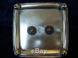 BHA England EPNS Silverplate and Glass CRUET SET