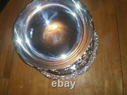 Beautiful Towle Vintage Silver-Plated Punch Bowl Set with 14 Cups