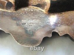 Birmingham Silver Over Copper Ornate 5 Pc Set