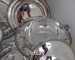 Christofle France Paris Malmaison Table Set 8pcs Splendid Perfect Condition