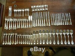 Christofle Marly Silver Plate Flatware Set (80 Pieces)