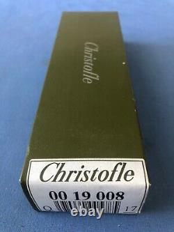 CHRISTOFLE Paris POMPADOUR Set of 12 Tea coffee Spoons Silver-plated 6 NEW