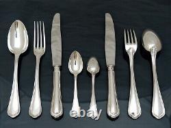 CHRISTOFLE SPATOURS Complete Table Dinner set 12 Place settings 48pcs + Ladle