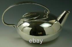 CHRISTOFLE Silver Plate GALLIA Lino Sabattini BOULE Pattern 3 Piece Tea Set