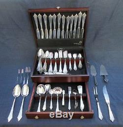 Colossal Wmf Germany Facher Silverplate Flatware Set For 12 Excellent 121 Pcs