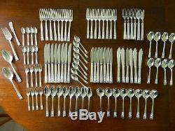 COMMUNITY PLATE Sheffield Vintage Flatware Full Cutlery Setting for 8 95pcs
