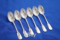 COMPLETE Christofle CLUNY Silver-plate 30 pcs Set for 6 person FRANCE