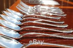 Christofle America Silver Plated 24 pieces Set in 6 settings