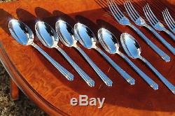 Christofle Aria Gold Silver Plated 24 Pieces Set in Six Settings