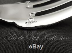 Christofle CLUNY Fork & Spoon Server Set, Couvert de Service 25cm MINT