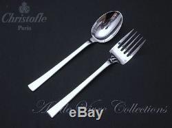 Christofle CONCORDE Server Set, Serving Fork & Spoon, Couvert de Service 25cm