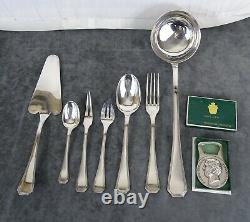 Christofle France America Silver plated Flatware Set 62 Pcs very good Condition