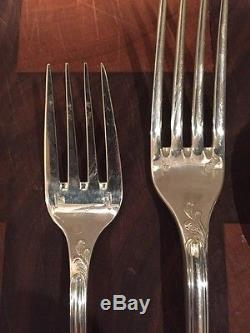 Christofle France Marly 4 pc Place Setting Silverplate